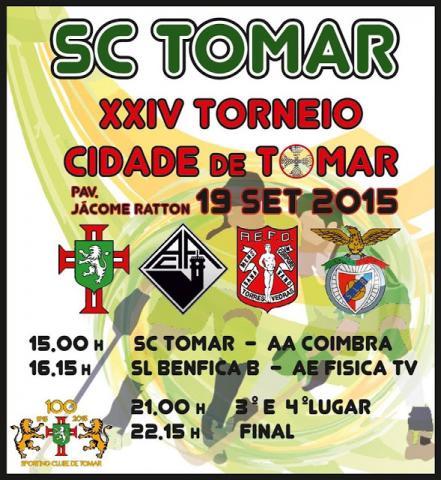 XXIV TORNEIO CIDADE DE TOMAR