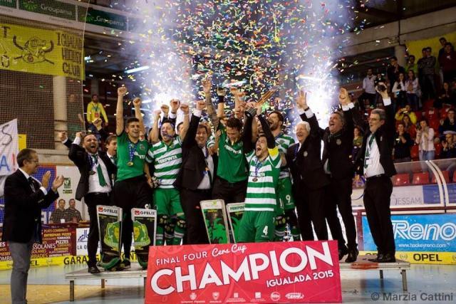 Sporting CP conquista Taça Cers