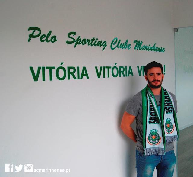 DÁRIO SANTO REFORÇA SC MARINHENSE