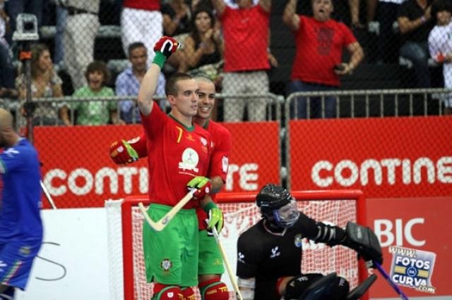 Portugal vence Itália Paredes'2012