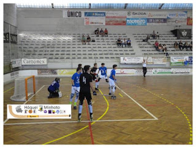 Camadas Jovens - Juvenis do HC Braga com um patin na fase final