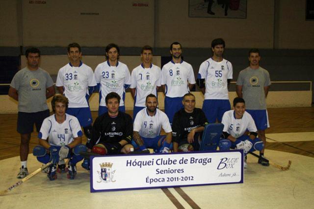 Braga divulga plantel para 2011/12