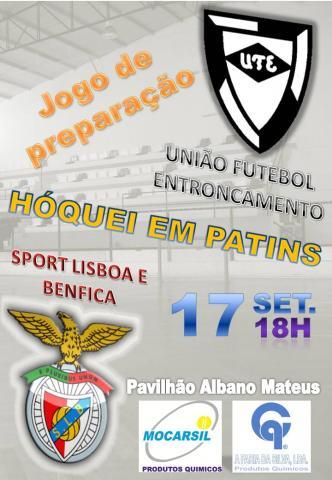 Entroncamento apresenta-se com Benfica