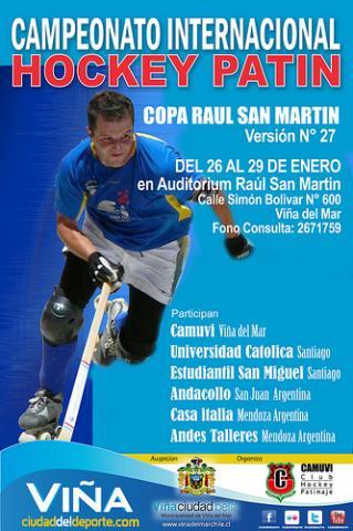 Copa Raul San Martin inicia época no Chile