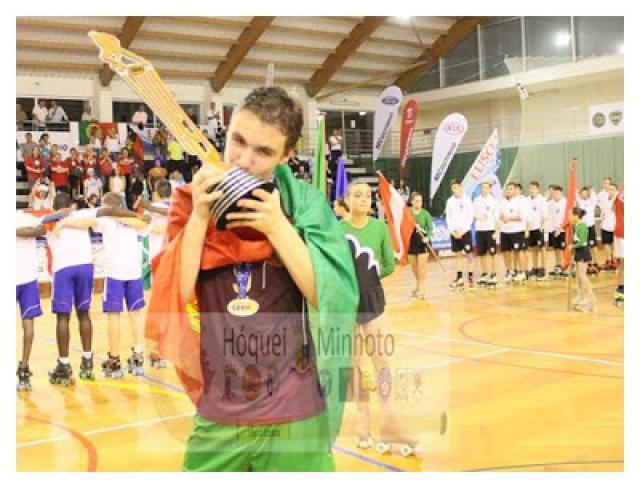 Minhoto António Trabulo, campeão europeu de Sub 17