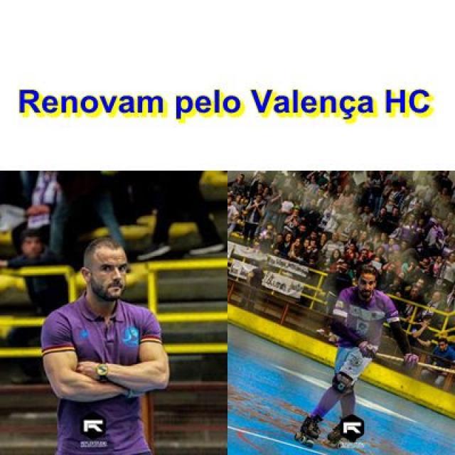 Valença HC - Paulo Morais e Zé Braga renovam