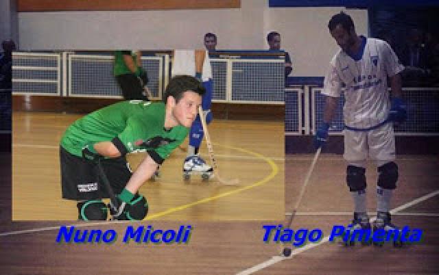 Nuno Micoli Pereira da AD Valongo e Tiago Pimenta ex Carvalhos mudam-se para Riba d'Ave